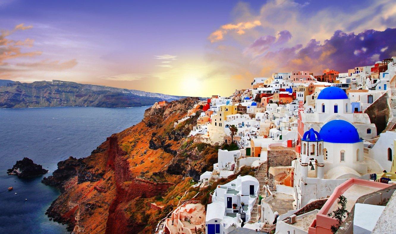 santorini-greece-sunset
