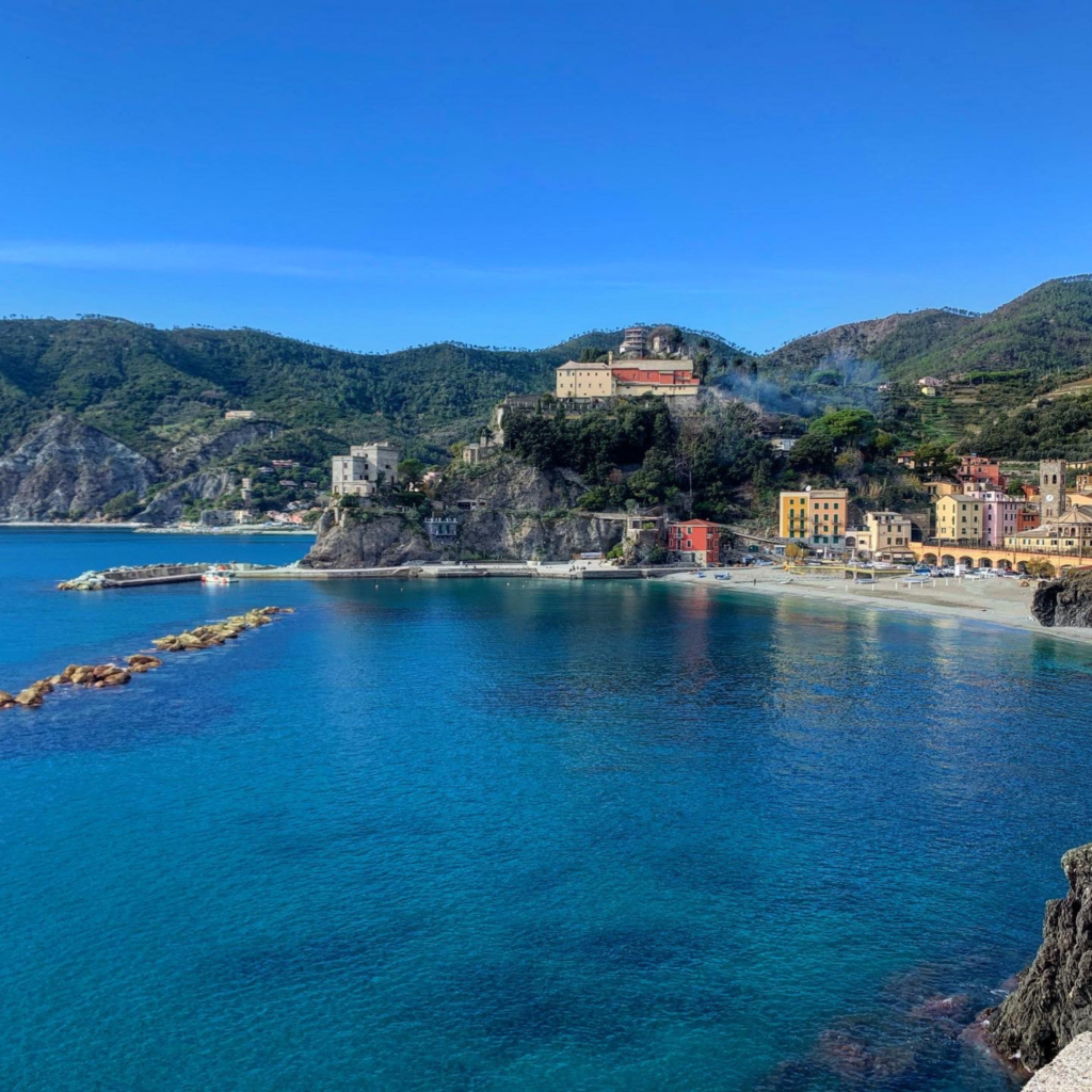 Monterosso as seen from the walkway to Punta Corona