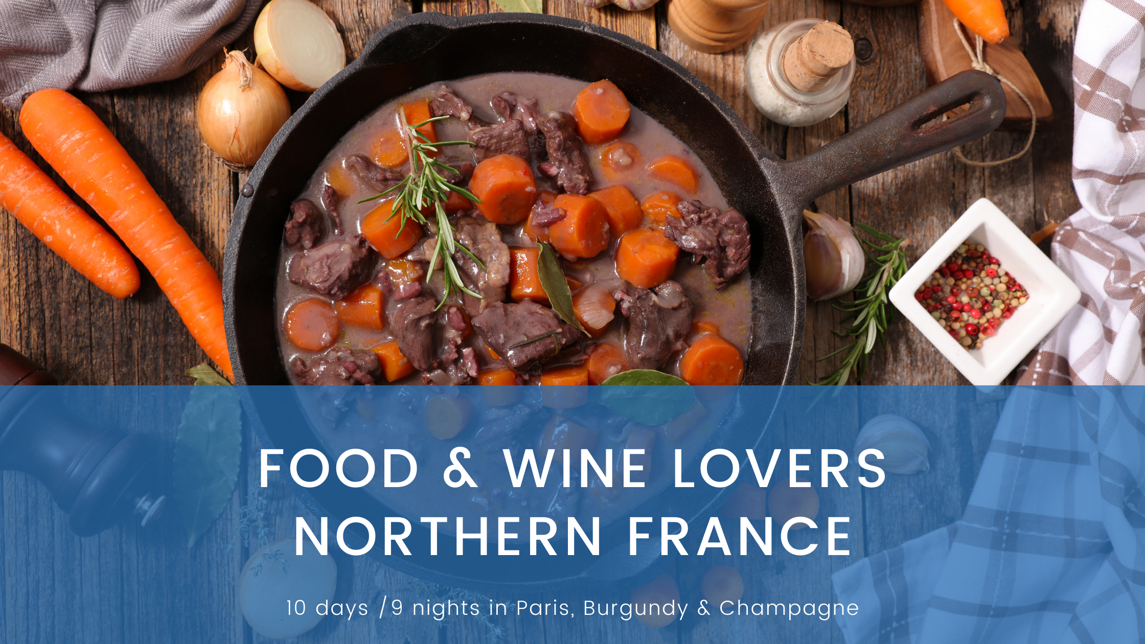 Food & Wine Lovers N France
