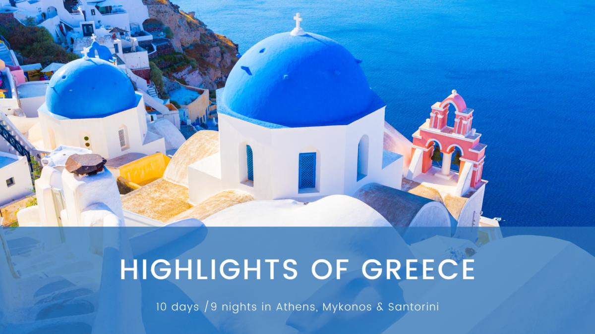 Highlights of Greece